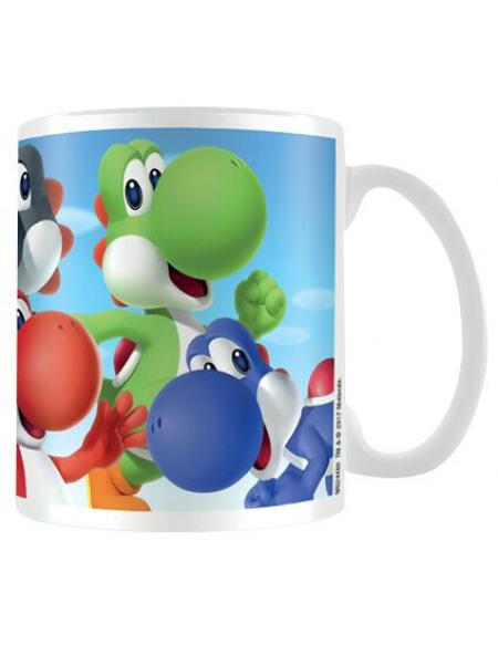 Super Mario Yoshi Mug blanc