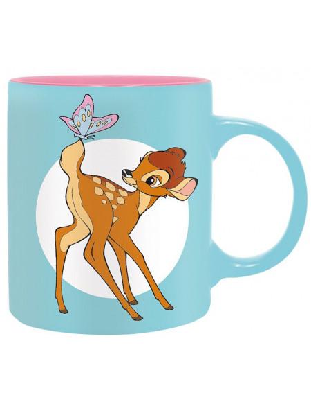 Bambi Butterfly Mug bleu clair/rose