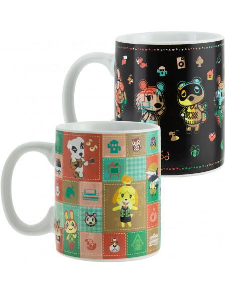 Animal Crossing Personnages - Mug Thermo-Réactif Mug multicolore