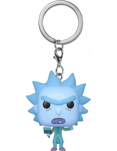 Rick & Morty Hologrq; Rick Clone - Pop! Keychain Porte-clés Standard
