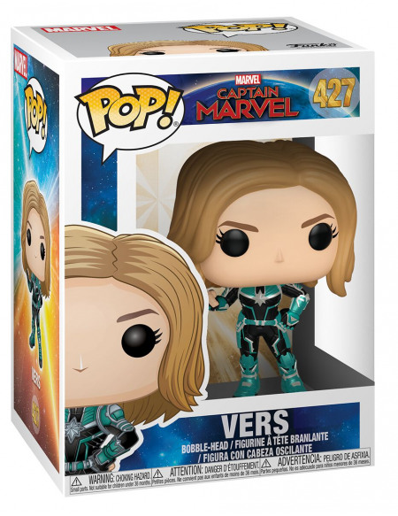 Figurine POP! #428 - Captain Marvel - Vers