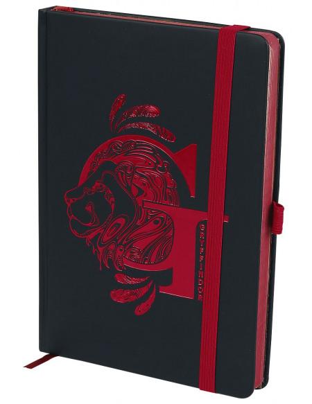 Harry Potter Gryffondor - Carnet Premium Cahier noir/rouge