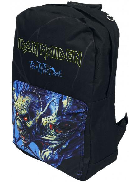 Iron Maiden Fear Pocket Sac à Dos noir