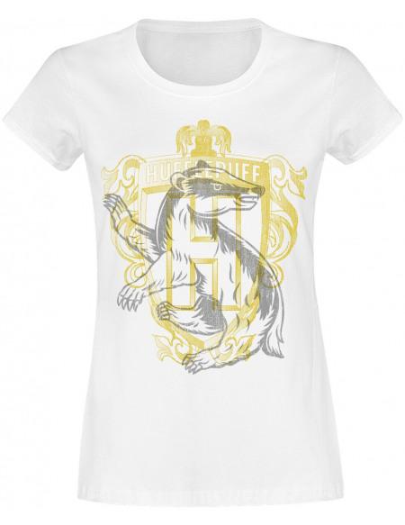 Harry Potter Poufsouffle - Blason T-shirt Femme blanc