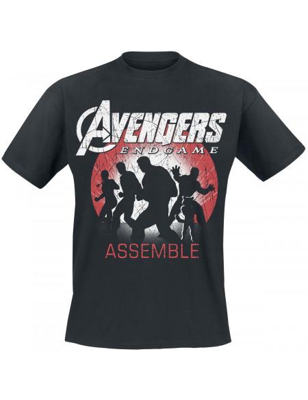 Avengers Endgame - Assemble T-shirt noir