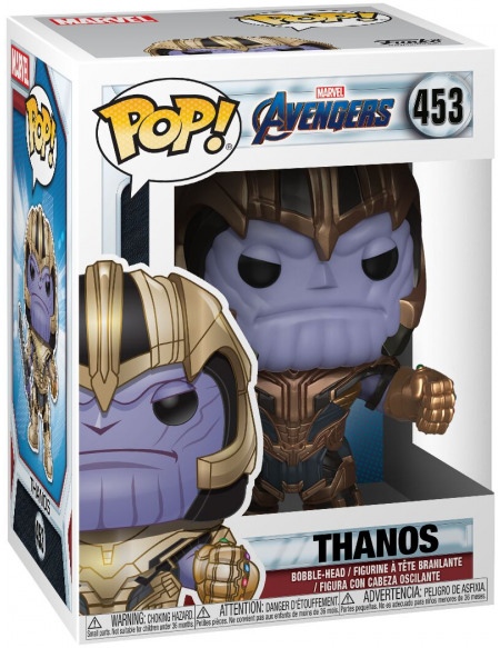 Figurine Funko Pop Avengers Endgame Thanos