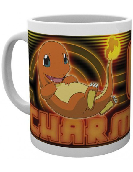 Pokémon Salamèche Néon Mug multicolore