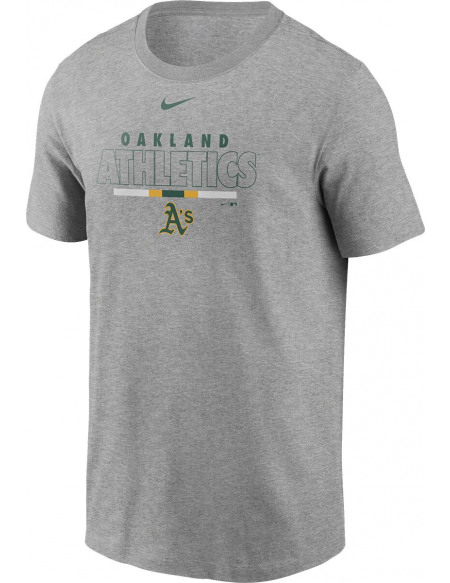 MLB Nike - Oakland Athletics T-shirt gris sombre chiné