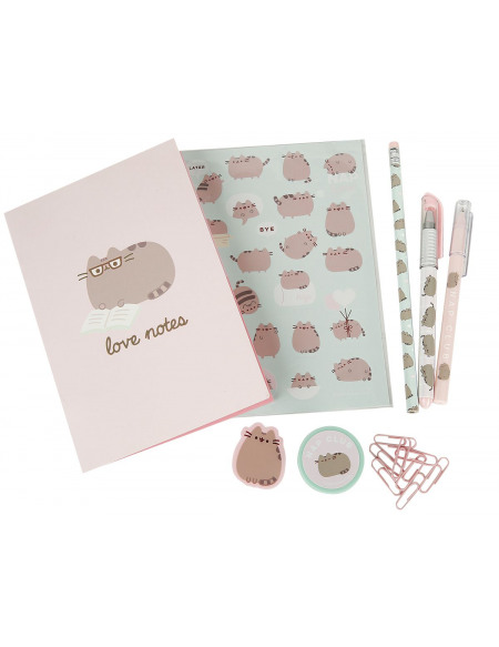 Pusheen Kit De Papeterie Set Écriture multicolore