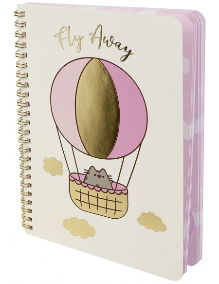 Pusheen Fly Away Cahier multicolore