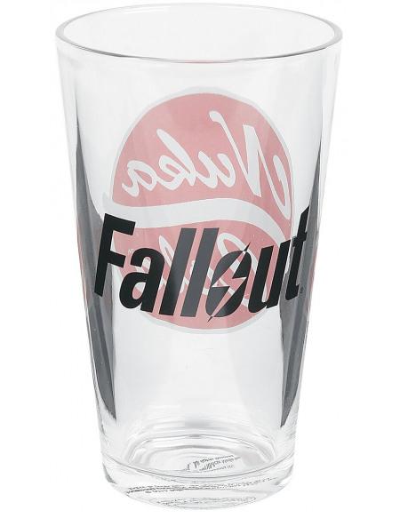 Fallout 4 - Nuka Cola Verre à pinte transparent