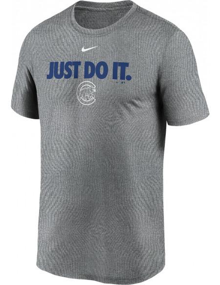 MLB Nike - Chicago Cubs Legends T-shirt gris sombre chiné