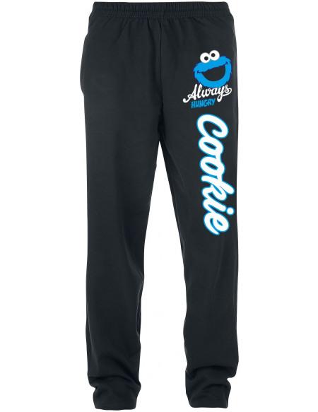 Sesame Street Cookie Monster - Always Hungry Pantalon de Jogging noir