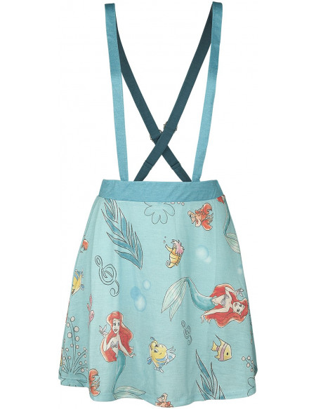 La Petite Sirène Symboles Jupe turquoise