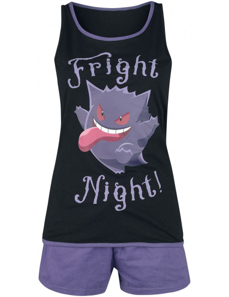 Pokémon Gengar - Fright Night Pyjama multicolore