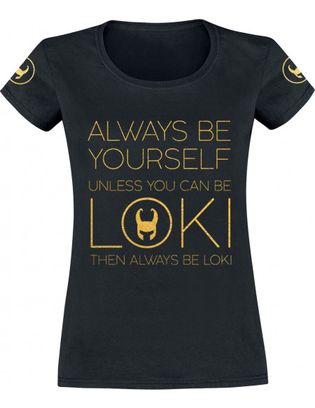 Thor Loki - Always Be Yourself T-shirt Femme noir
