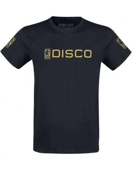 Star Trek Star Trek Discovery - Feuille D'Or T-shirt noir