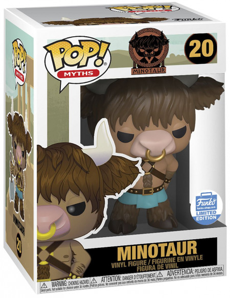 Funko Pop! Mythes - Minotaure (Funko Shop Europe) - Funko Pop! n°20 Figurine de collection Standard
