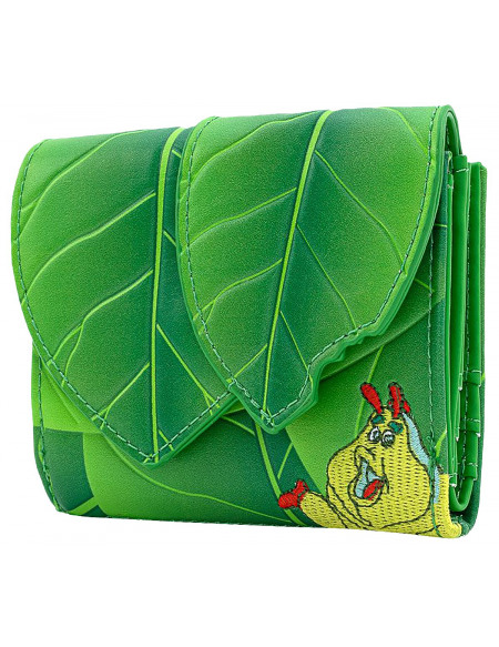 A Bug's Life Loungefly - Feuille Portefeuille vert