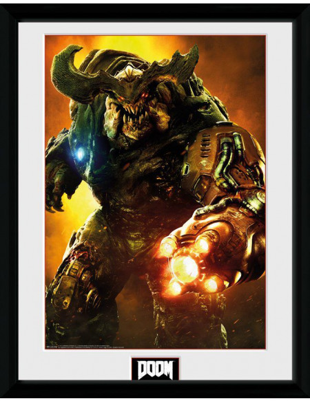 Doom Cyber Demon Photo encadrée Standard
