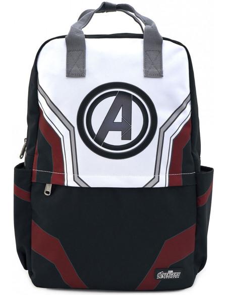 Avengers Endgame - Loungefly - Avengers Logo Sac à Dos noir/blanc/rouge