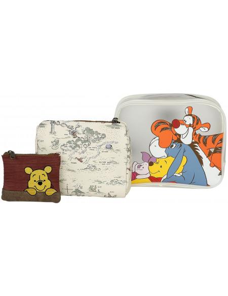 Winnie l'Ourson Loungefly - Winnie & Ses Amis Trousse de Toilette multicolore