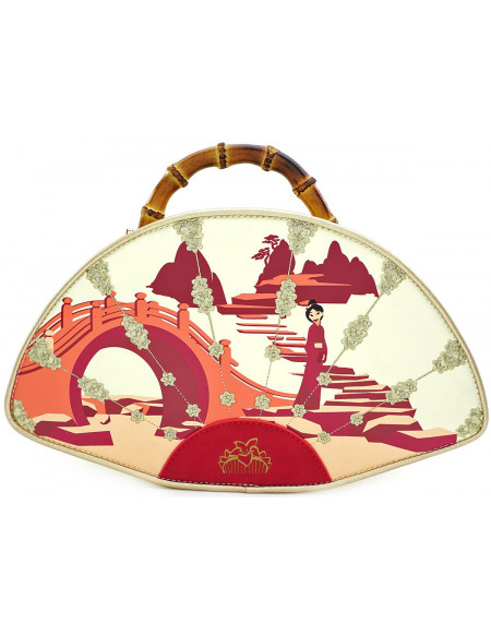Mulan Loungefly - Éventail Sac à Main multicolore