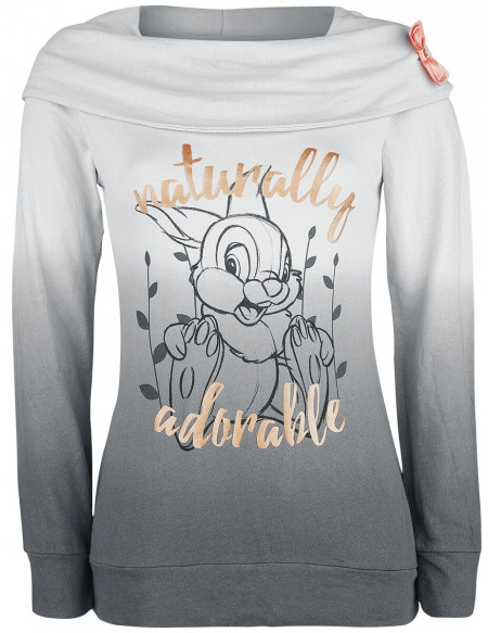 Bambi Naturally Adorable Veste à Capuche Femme gris