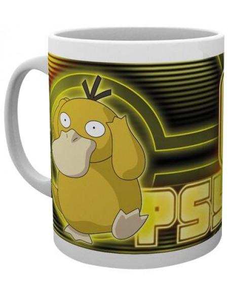 Pokémon Psykokwak Glow Mug jaune/blanc