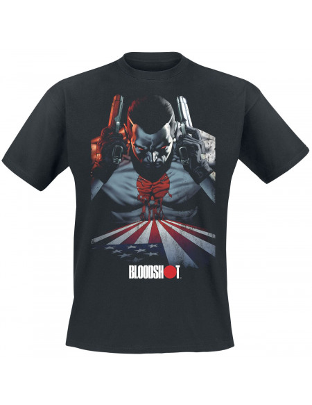 Bloodshot Bleeding Nation T-shirt noir