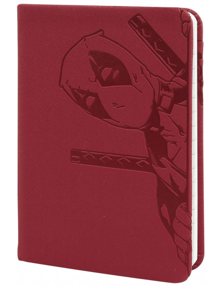 Deadpool Carnet De Notes A6 Pocket Premium Cahier rouge