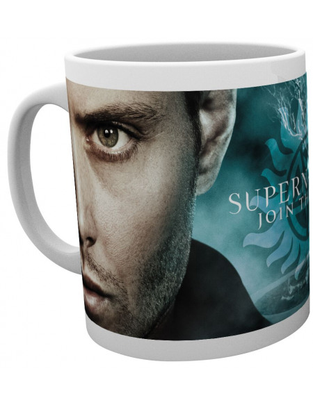 Supernatural Brothers Wrap Mug blanc
