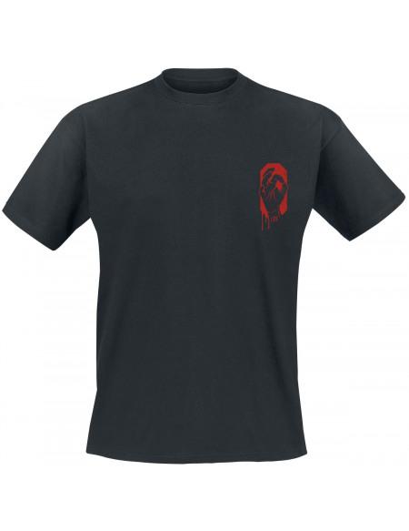 HandOfBlood Logo Poche T-shirt noir