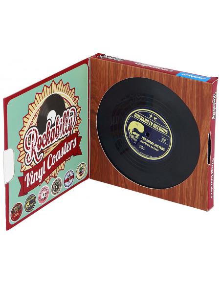 Vinyl Coasters Rockabilly Dessous de verre Standard