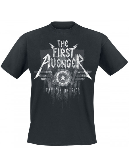 Captain America The First Avenger T-shirt noir