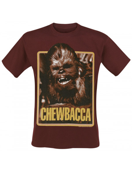 Star Wars Vintage Chewbacca T-shirt bordeaux