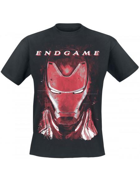 Avengers Endgame - Iron Man T-shirt noir