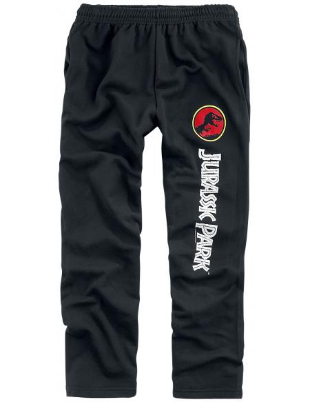 Jurassic Park Logo Pantalon de Jogging noir