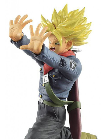 Dragon Ball Super Saiyan Trunks Future Galick Gun Figurine de collection Standard