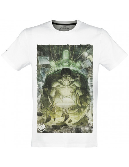 Avengers The Game - Hulk T-shirt blanc