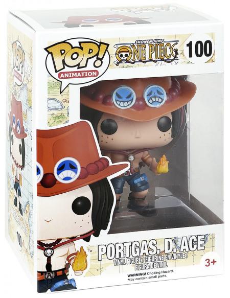 One Piece Figurine En Vinyle Portgas D. Ace No. 100 Figurine de collection Standard