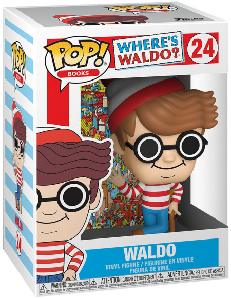 Figurine Funko Pop Books Where's Waldo