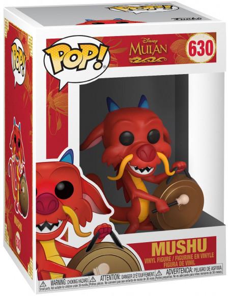 Figurine Funko Pop Disney Mulan Mushu with Gong