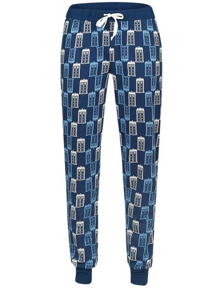 Doctor Who Tardis Bas de pyjama bleu