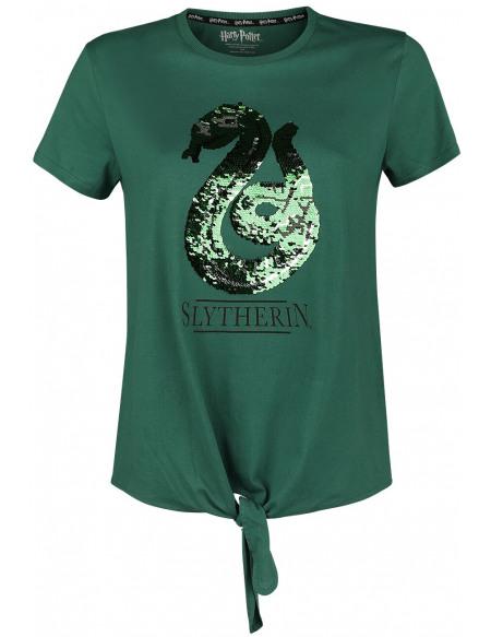 Harry Potter Serpentard T-shirt Femme vert