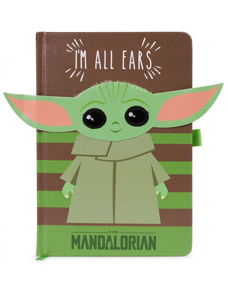 Star Wars The Mandalorian - I'm All Ears Cahier multicolore
