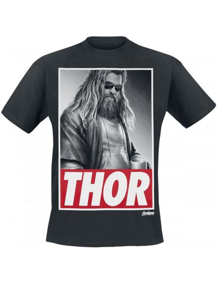 Avengers Endgame - Thor T-shirt noir