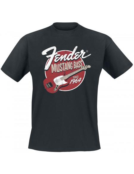 Fender Mustang Bass Since 1964 T-shirt noir