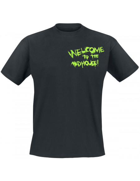 Le Joker Welcome To The Madhouse! T-shirt noir