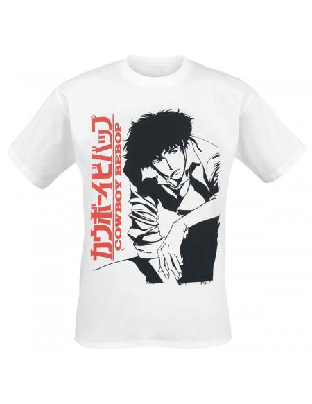Cowboy Bebop Spike T-shirt blanc